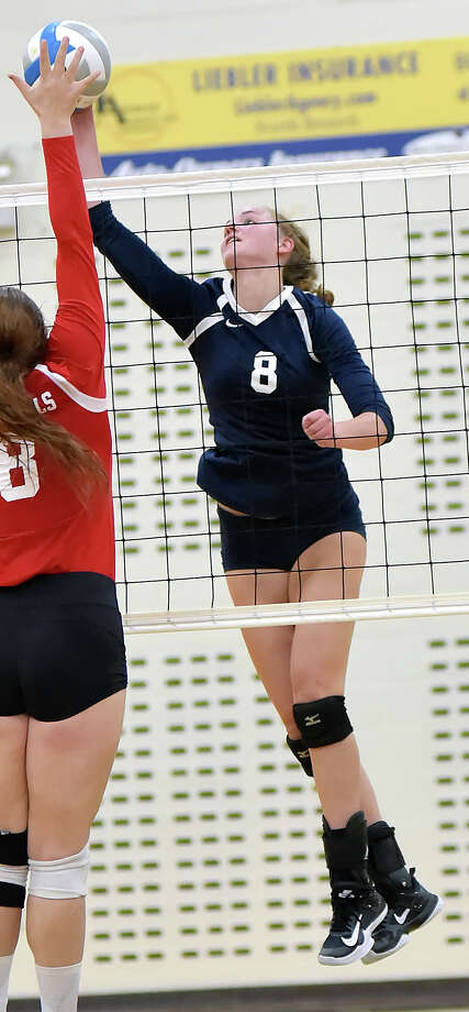 PLAYER OF THE YEARTeam: North Branch Pos: Outside Hitter Class: Jr. No. 8