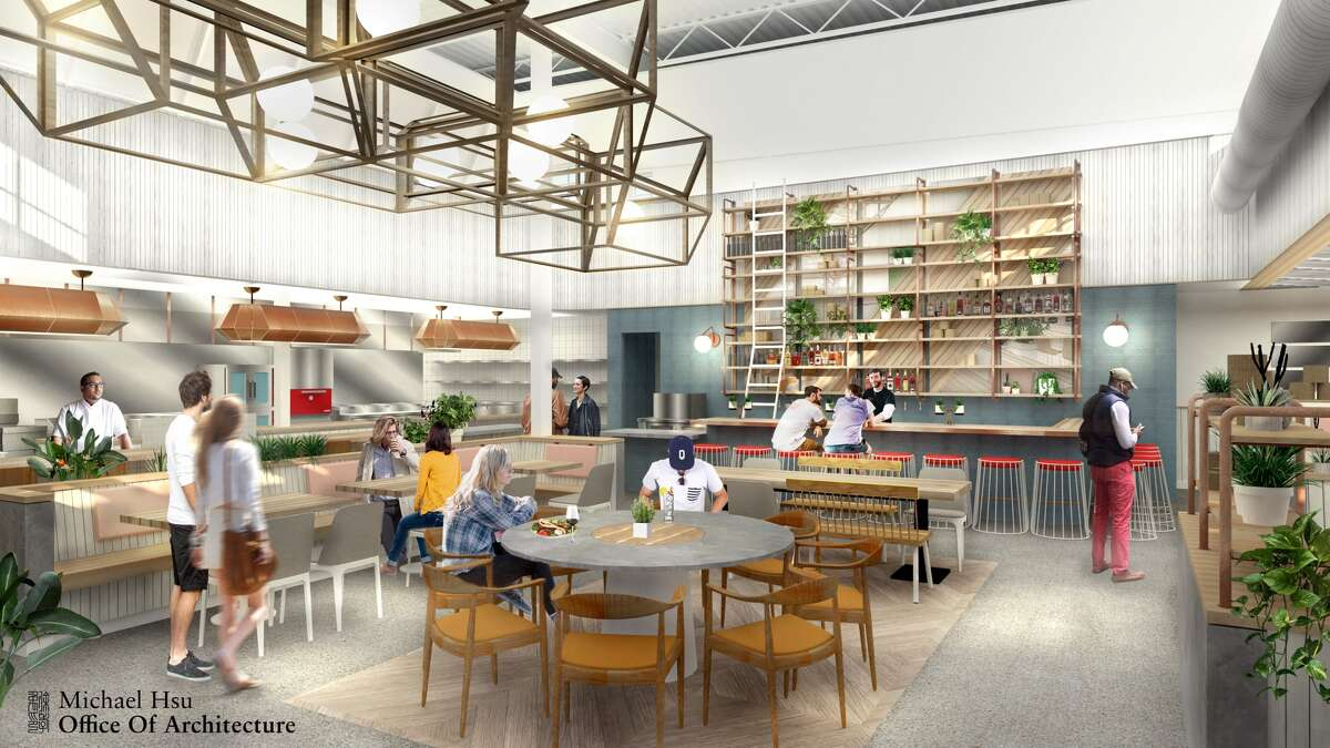 Artist rendering of The Classic -- All Day, the new concept for Benjy's on Washington from restaurateur Benjy Levit.