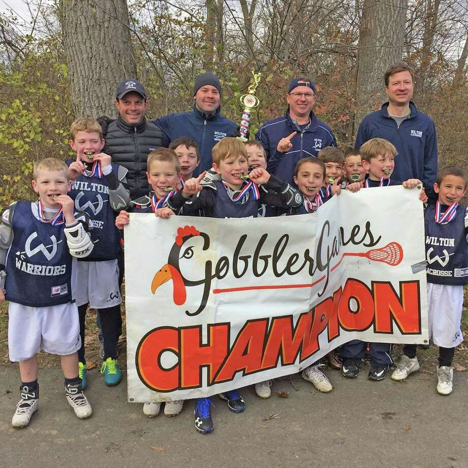 "Wilton's 3rd Grade Boy's Lacrosse team won the ""Gravy"" division Championship at the 7th annual Gobbler Game's Lacrosse Tournament over the weekend at SUNY Purchase. Photo: Contributed Photo / Hearst Connecticut Media / Norwalk Hour"