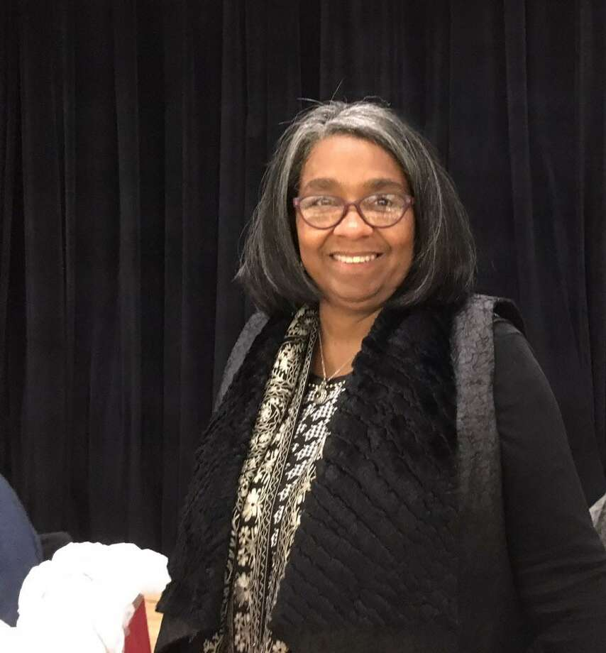Sauda Baraka, retiring Bridgeport Board of Education member Photo: Linda Conner Lambeck