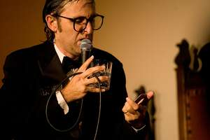 Neil Hamburger, the comedian alter ego of Gregg Turkington who also sings