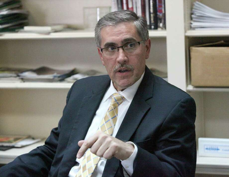 Pat DiGiovanni, seen in 2012, has been the chief executive office of Centro San Antonio for five years. Photo: Juanito M. Garza /San Antonio Express-News / San Antonio Express-News
