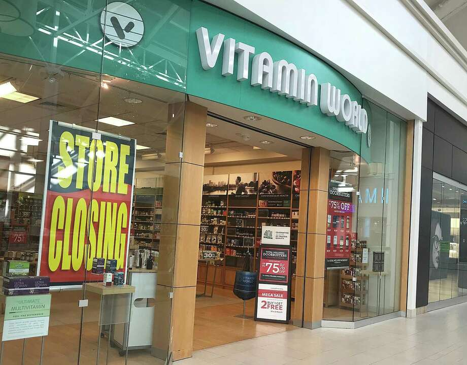 """Vitamin World has started its """"Store Closing"""" sale at Danbury Fair in Danbury, Conn., as shown in this photo taken Monday, Nov. 27, 2017. Photo: Chris Bosak, Hearst Connecticut Media / The News-Times"""