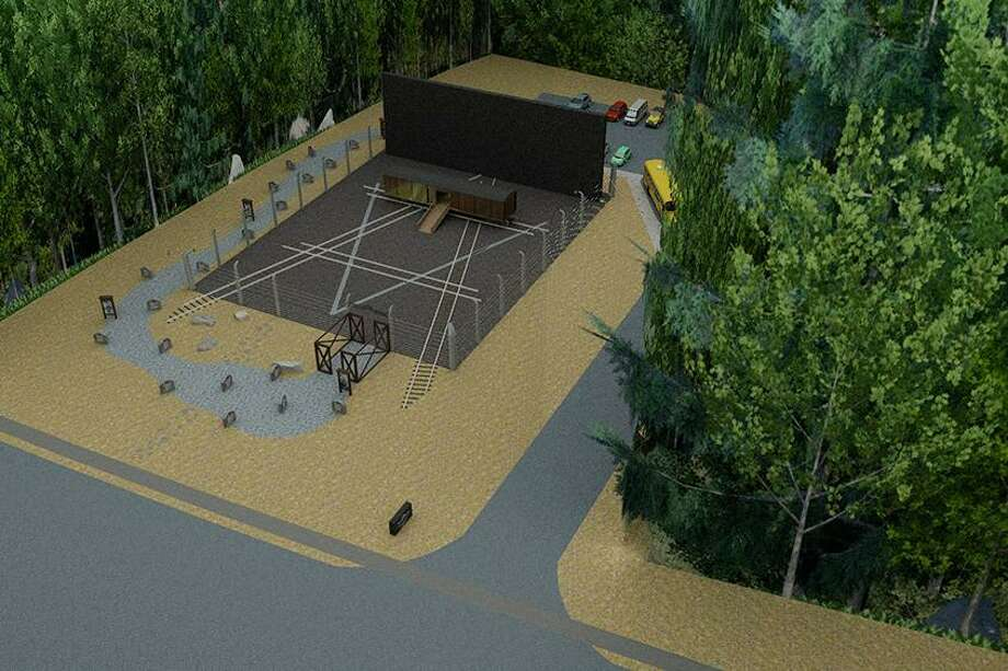 A diagram of the Holocaust Memorial set to open in Niskayuna next year.
