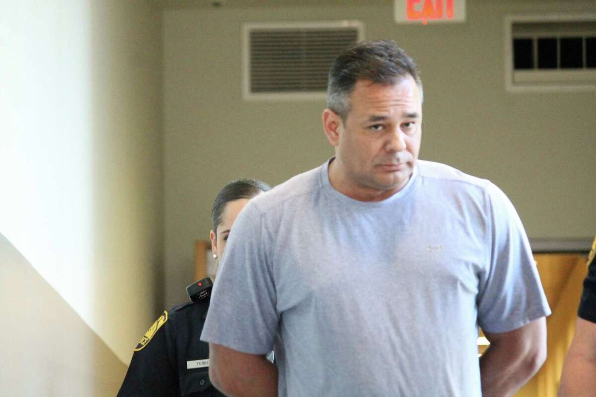 David Gomez, 48, is accused of fatally shooting his business partner on April 7, 2015.