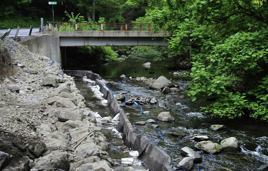 File photo of the East Aspetuck River in New Milford, Conn. Photo: Michael Duffy / Michael Duffy / The News-Times