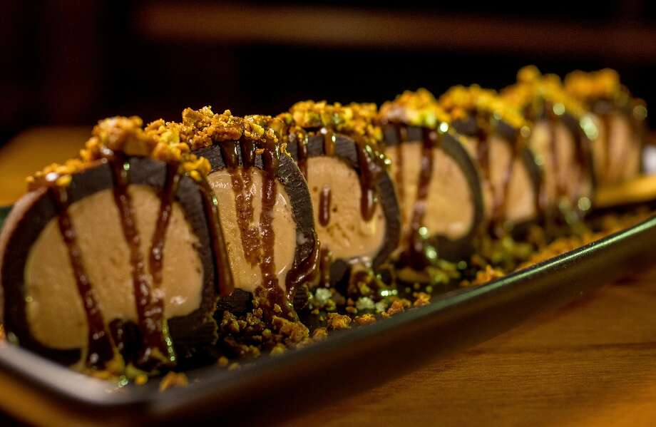 The brownie dough roll at Mamanoko in S.F. Photo: John Storey, Special To The Chronicle