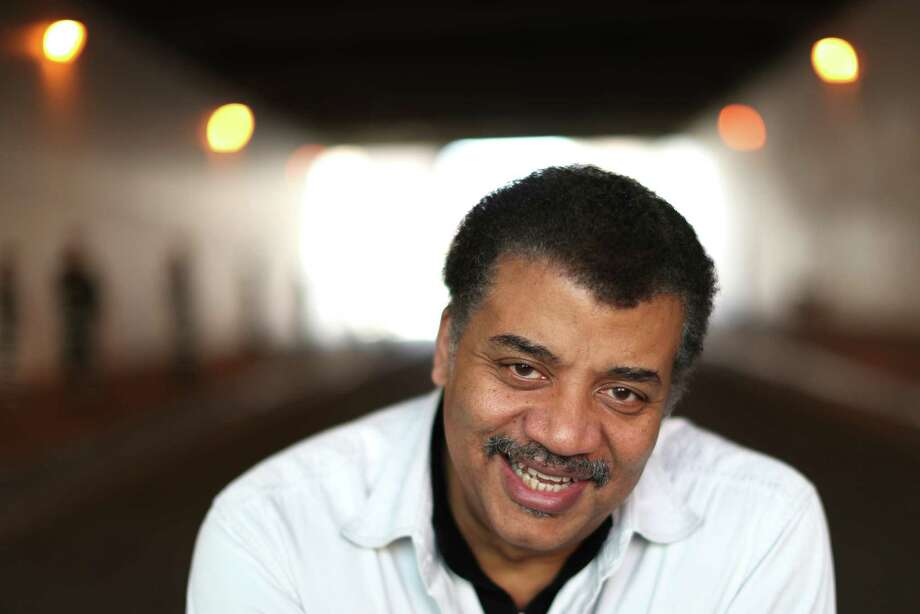 "Neil deGrasse Tyson will give his ""Cosmic Collisions"" lecture Jan. 15 at Jones Hall, presented by Society for the Performing Arts. Photo: Scott Strazzante, The Chronicle / **MANDATORY CREDIT FOR PHOTOG AND SF CHRONICLE/NO SALES/MAGS OUT/TV"