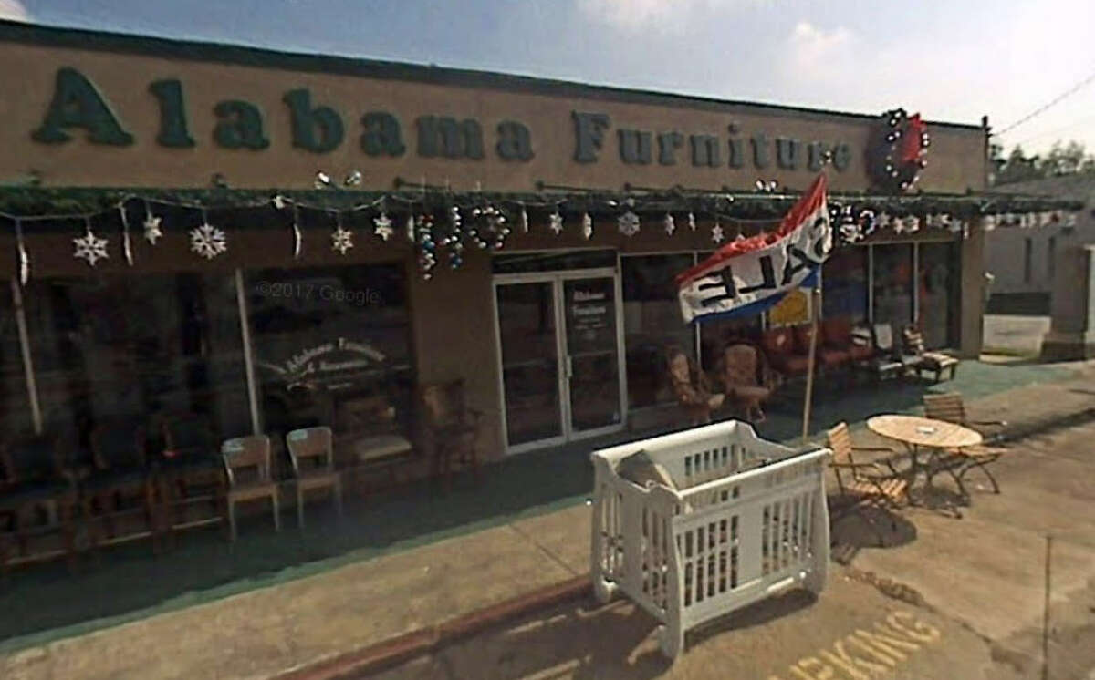 This Oct. 2007 photo shows Alabama Furniture store located at 2200 Yale.
