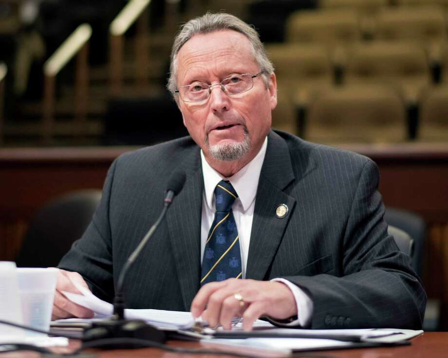State commissioner of Agriculture & Markets Richard Ball testifies before the Assembly Standing Committee of Agriculture's oversight of the SFY 2017-2018 State Budget for the NYS Dept. of Agriculture and Markets Tuesday Nov. 28, 2018 in Albany, NY.  (John Carl D'Annibale / Times Union) Photo: John Carl D'Annibale, Albany Times Union / 20042235A