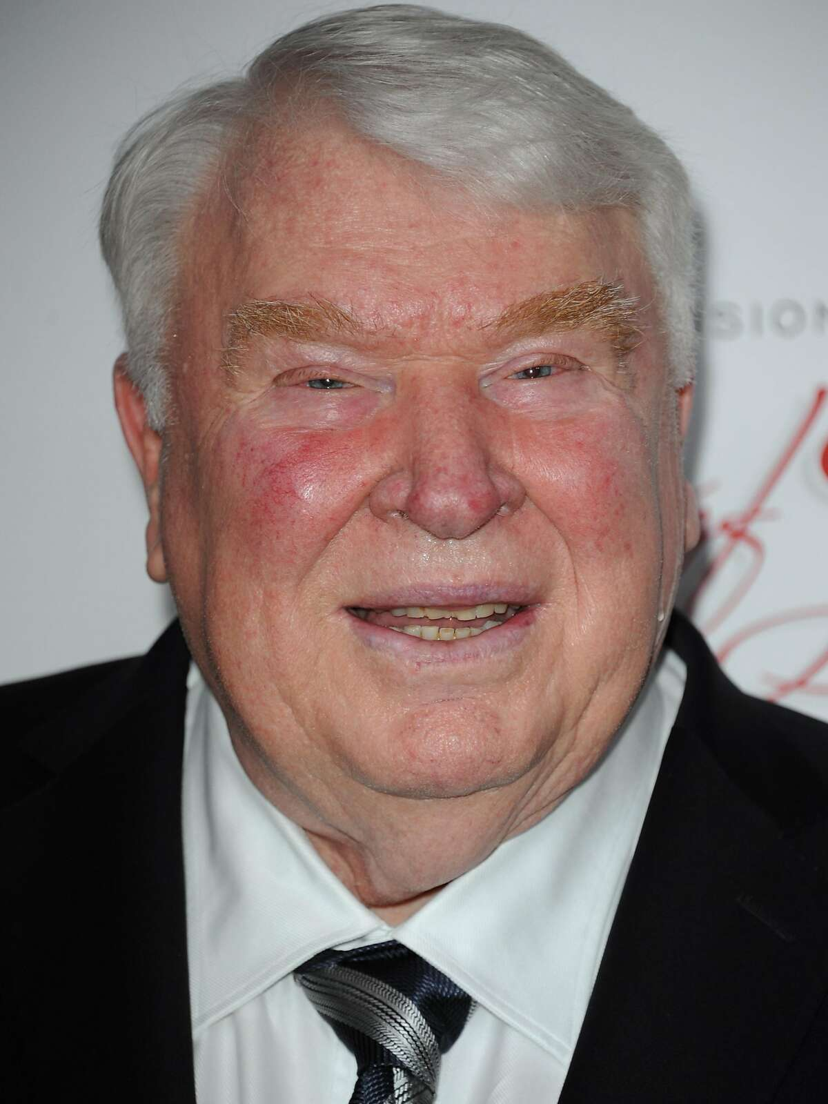 John Madden arrives at The Academy of Television Arts and Sciences