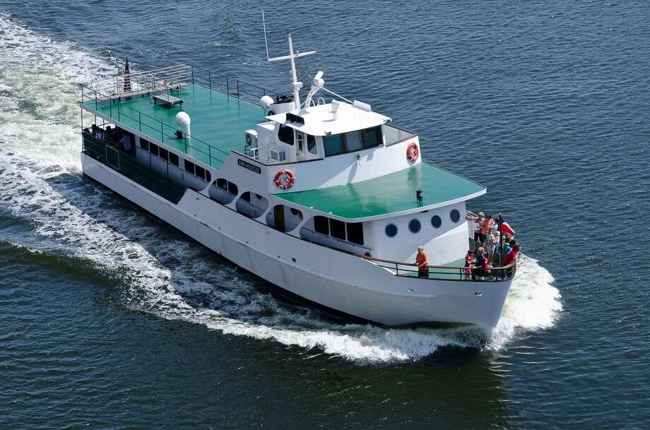 Sam Houston Boat Tour  idled since