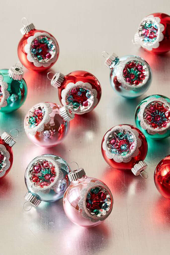 2) Shiny Brite Ornaments $19 For Set Of 12 BUY NOW The Same Beautiful  Baubles
