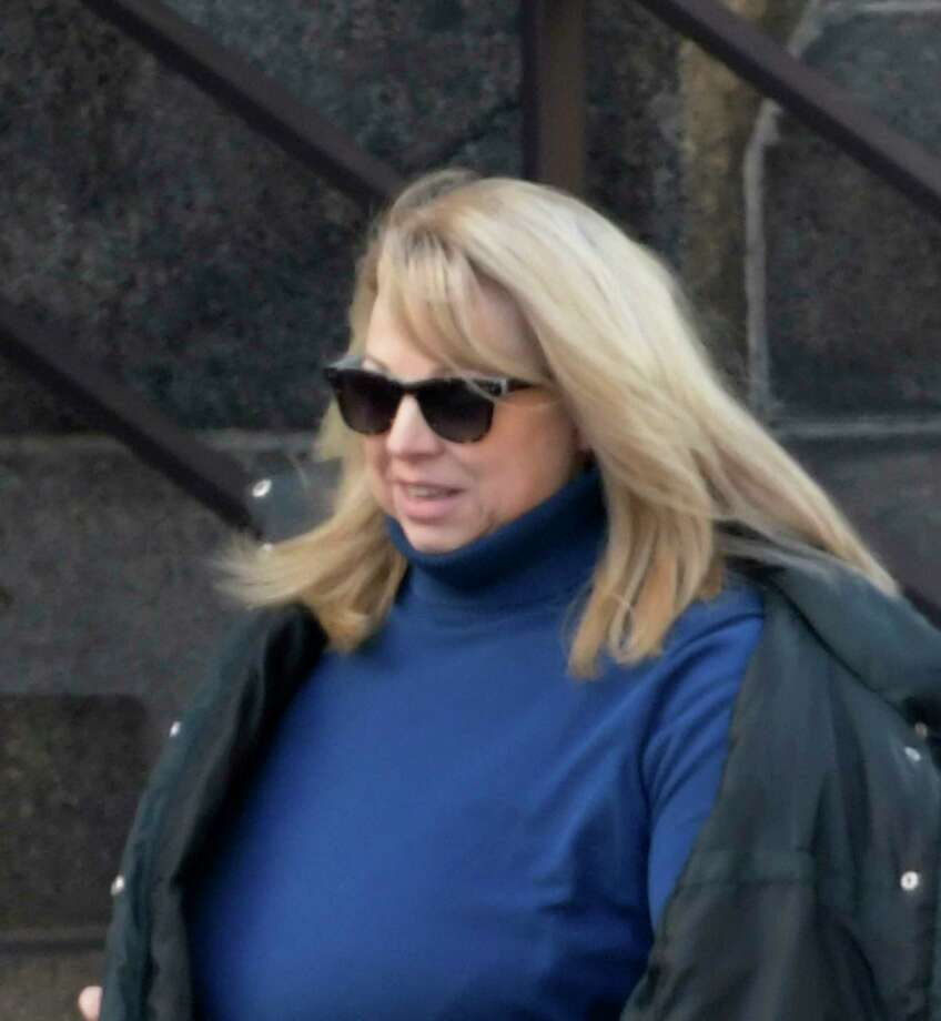 Diane Backis arrives at the Federal Courthouse Monday Nov. 28, 2016 to take a plea deal for alleged embezzlement of $3.1M from the Cargill Company in Albany, N.Y.    (Skip Dickstein/Times Union) Photo: SKIP DICKSTEIN