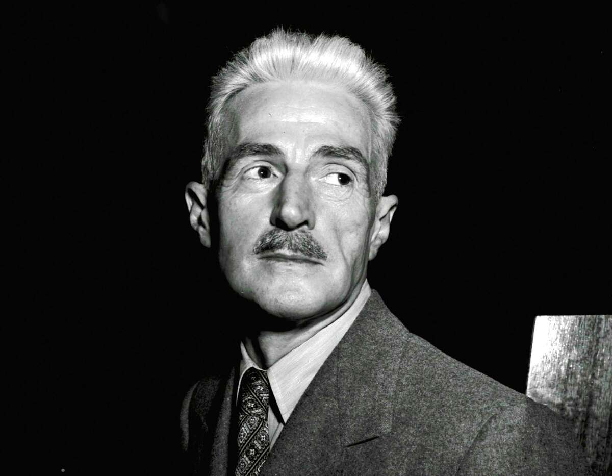 FILE - In this Nov. 7, 1947 file photo, novelist Dashiell Hammett, author of
