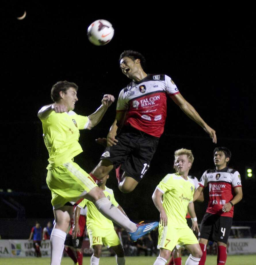 The Laredo Heat Soccer Club will be returning after a two-year hiatus in 2018. The Heat competed 11 seasons as part of the USL PDL and will be an expansion team in the NPSL. A press conference to announce the team's return will be held Wednesday afternoon. Photo: Jason Mack /Laredo Morning Times File