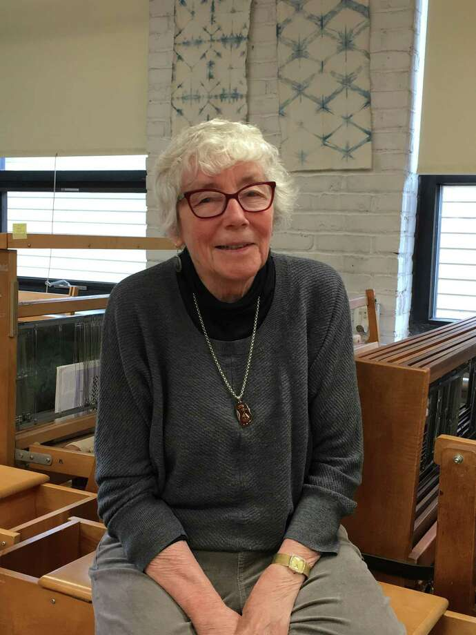 Laurie Frenzel, an accomplished weaver, is a participant in the annual show and sale at Wesleyan Potters in Middletown. Her work will be on display and available for purchase. Photo: Contributed Photo/Not For Resale