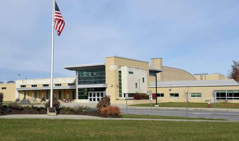 Exterior of Niskayuna High School Thursday, Nov. 10, 2016, in Niskayuna, NY. (John Carl D'Annibale / Times Union archive)