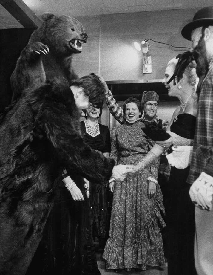 """During an Alaska party in Seattle."" Yes, they had to hurry before it was named a state and much of the exotic mystique was lost. Photo: Nat Farbman/The LIFE Picture Collection/Getty Images"