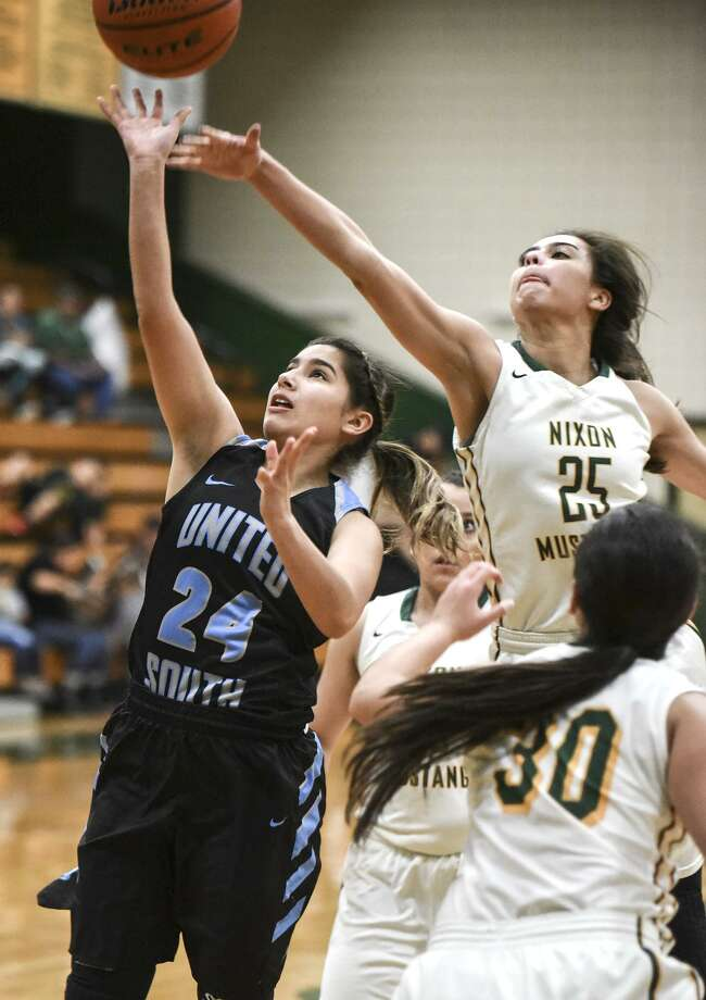 Daniela Salazar and the Lady Panthers will play host to the 2017 Border Olympics Girls' Basketball Tournament beginning Thursday at United South's high school and ninth-grade campuses. Photo: Danny Zaragoza /Laredo Morning Times