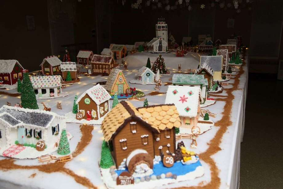 St. George's Episcopal Church in Middlebury will present the 50th Gingerbread House and Christmas Bazaar Dec. 1-9. Photo: Contributed Photo/Not For Resale