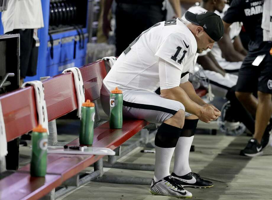 Raiders kicker Sebastian Janikowski has been on injured reserve all season. The team used its final IR reinstatement on cornerback Antonio Hamilton. Photo: Rick Scuteri / Rick Scuteri / Associated Press / FR157181 AP