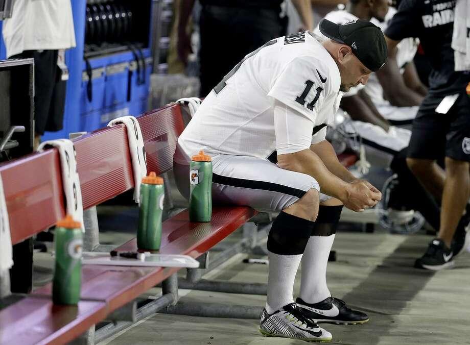 Raiders kicker Sebastian Janikowski has been on injured reserve all season. The team used its final IR reinstatement on cornerback Antonio Hamilton. Photo: Rick Scuteri / Rick Scuteri / Associated Press / FR157181 AP