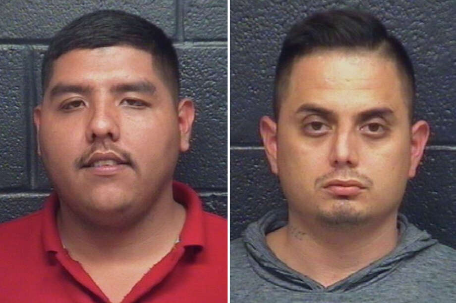 Esteban Yruegas, 24, and Pedro Vasquez, 31, are accused of shooting and killing Cesar Javier Sarmiento in July 2016. Each was charged with murder. Photo: Webb County Sheriff's Office