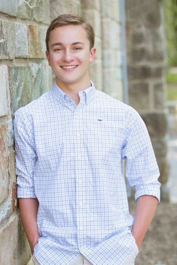 Jackson Dill, a senior at Wilton High School, created his meteorology website in 2015. Photo: Contributed Photo