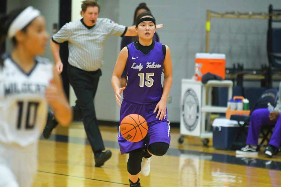 Jersey Village's Kayleigh Truong helped lead the Falcons to a win over Tomball Memorial. Photo: Tony Gaines/ HCN, Photographer