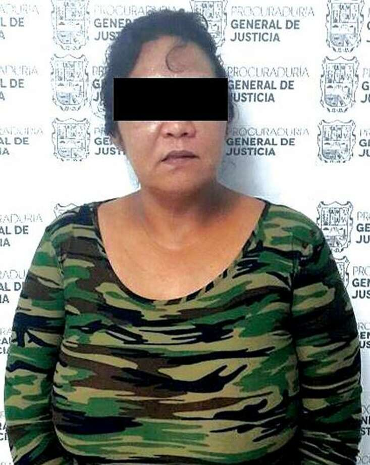 Tamaulipas state authorities said they arrested Ana Isabel Treviño on Monday night in connection with a kidnapping case that allegedly occurred in November 2016. Photo: Courtesy