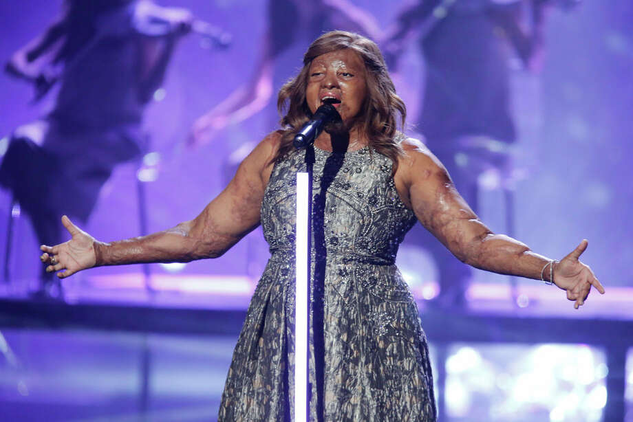 Kechi performs on the America's Got Talent finals. Photo: NBC / 2017 NBCUniversal Media, LLC