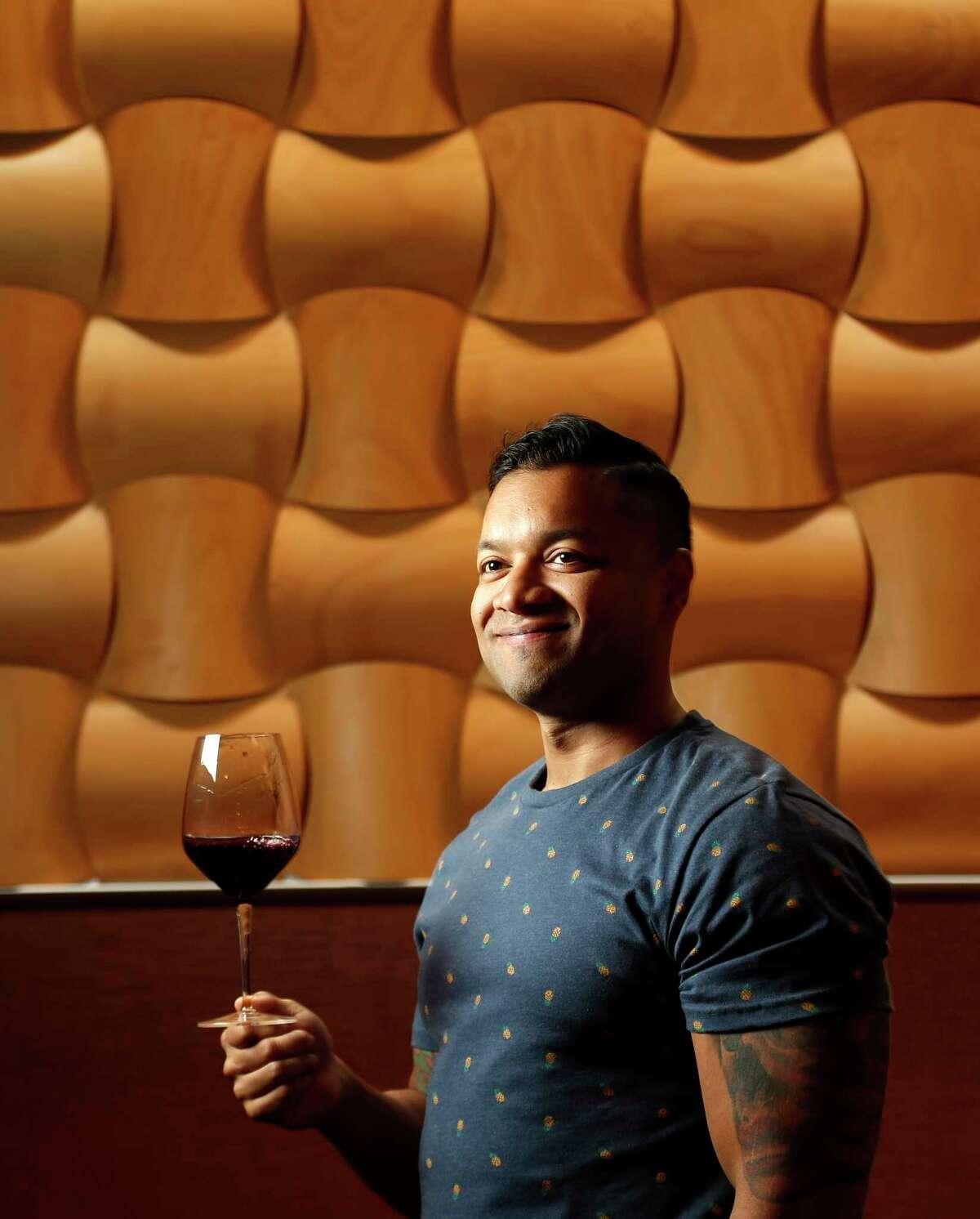 Portrait of Kata Robata bartender Mo Rahman at Kata Robata, Tuesday, Nov. 21, 2017, in Houston. ( Karen Warren / Houston Chronicle )