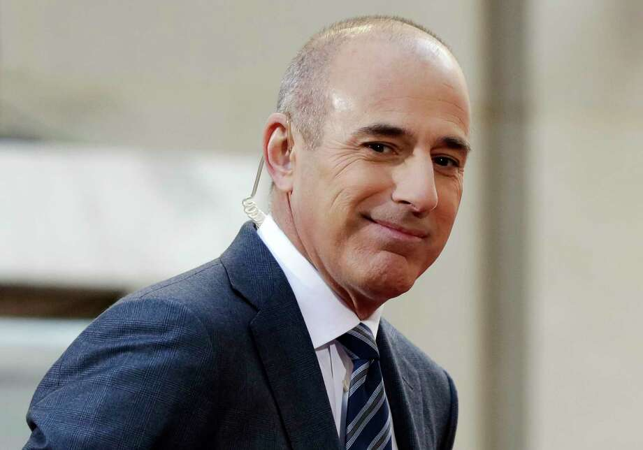 """NBC News fired longtime """"Today"""" show host Matt Lauer on Nov. 29, 2017, for """"inappropriate sexual behavior,"""" making him the second morning television show personality to lose his job because of sexual misconduct charges in a week. Photo: Richard Drew, AP / Copyright 2017 The Associated Press. All rights reserved."""