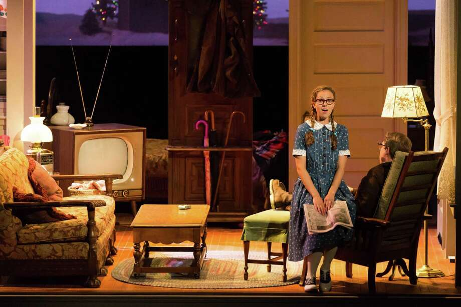 """The world premiere of """"The House Without a Christmas Tree"""" captures the essence of a small-town Christmas. Photo: Lynn Lane"""