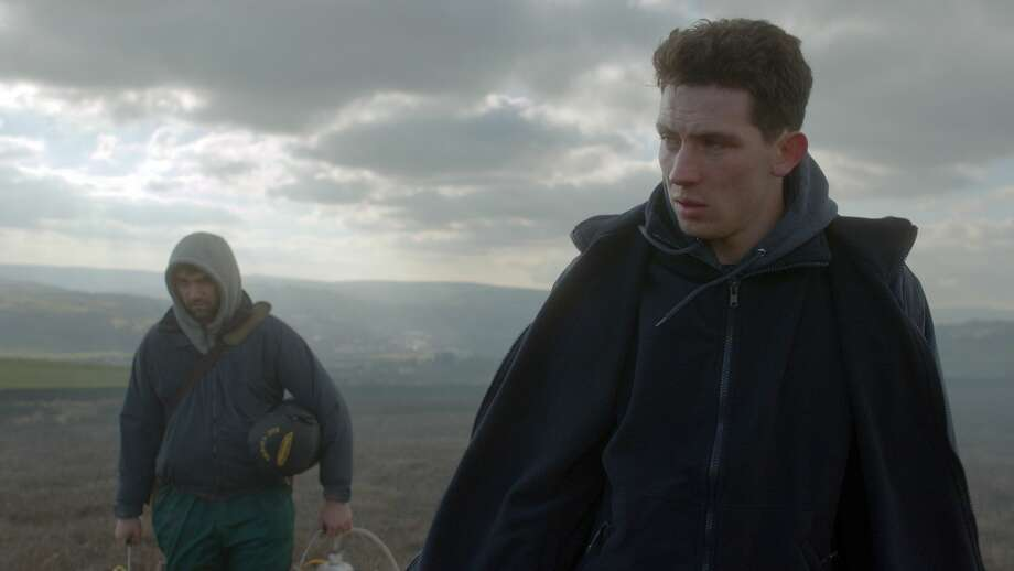 "A scene from the film ""God's Own Country."""