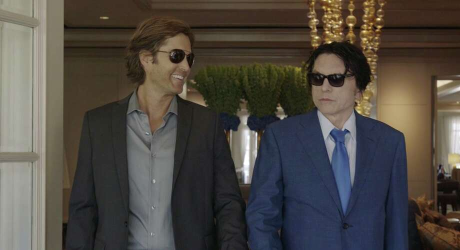 Greg Sestero, left, and Tommy Wiseau take things more seriously this time around.