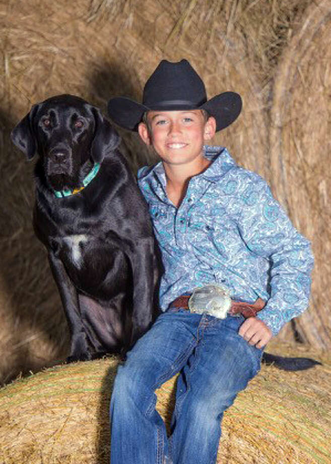 Trevor Chesson, 10, of Hamshire died on Nov. 27 in an ATV accident.  Photo: Broussard's Mortuary website