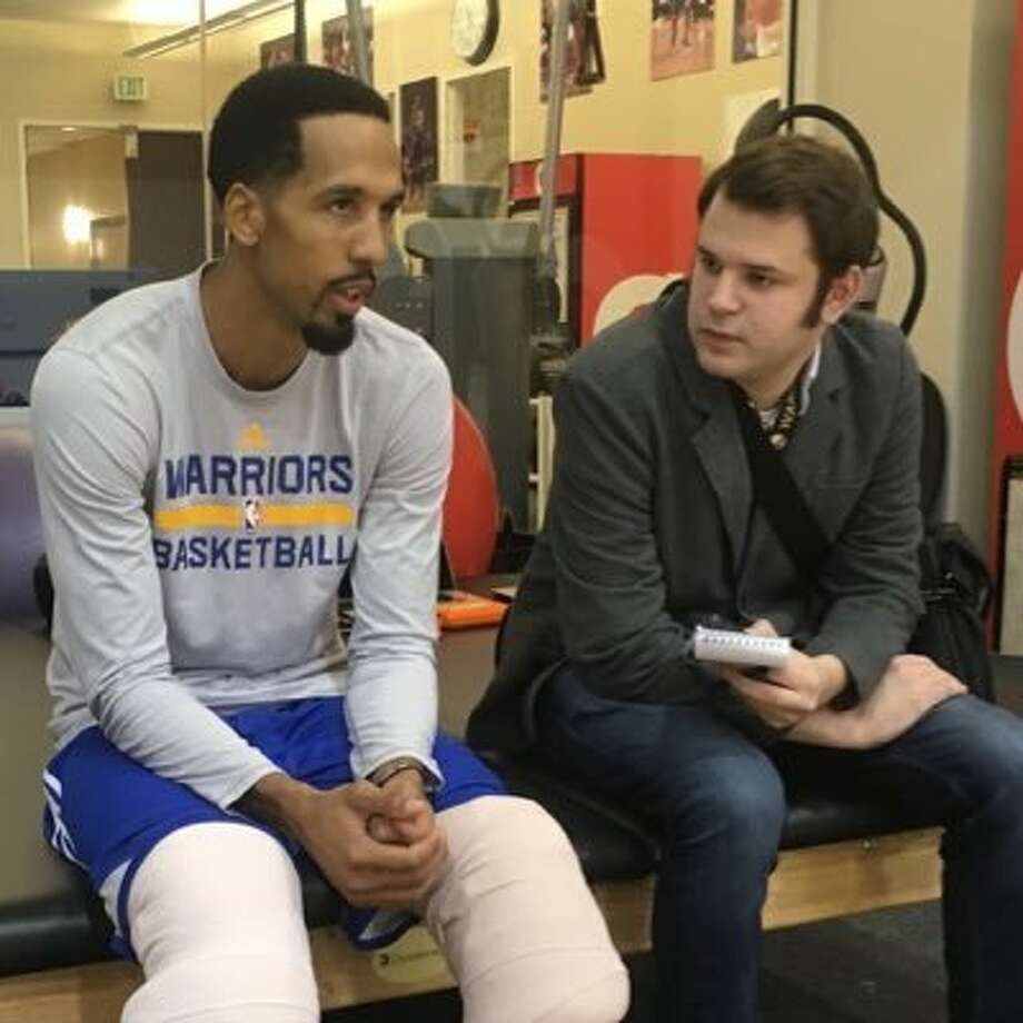 Warriors beat writer Connor Letourneau is hosting a new NBA podcast called Warriors Off-Court. Photo: Courtesy Of Connor Letourneau