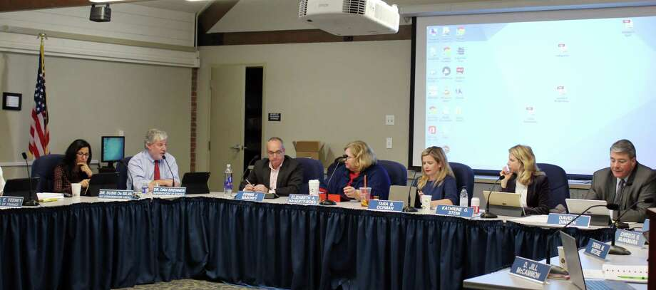 The Board of Education discussed the future of the alternative high school program, Fitch Academy, at a meeting in Darien, Conn. on Nov. 28, 2017. Photo: Erin Kayata / Hearst Connecticut Media / Darien News