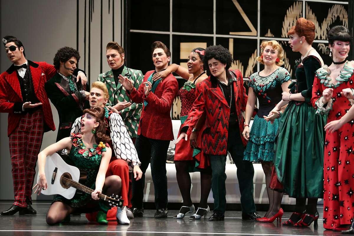 "Mark Morris Dance Group performs ""The Hard Nut"" at Cal Performances, Dec. 15-24. Photo: Julieta Cervantes"