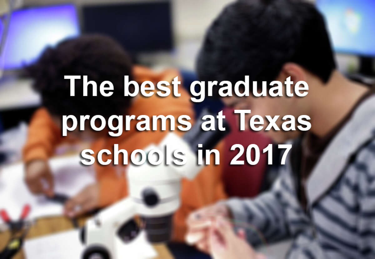 Click ahead to see the standout graduate programs at Texas colleges and universities, according to U.S. News & World report.