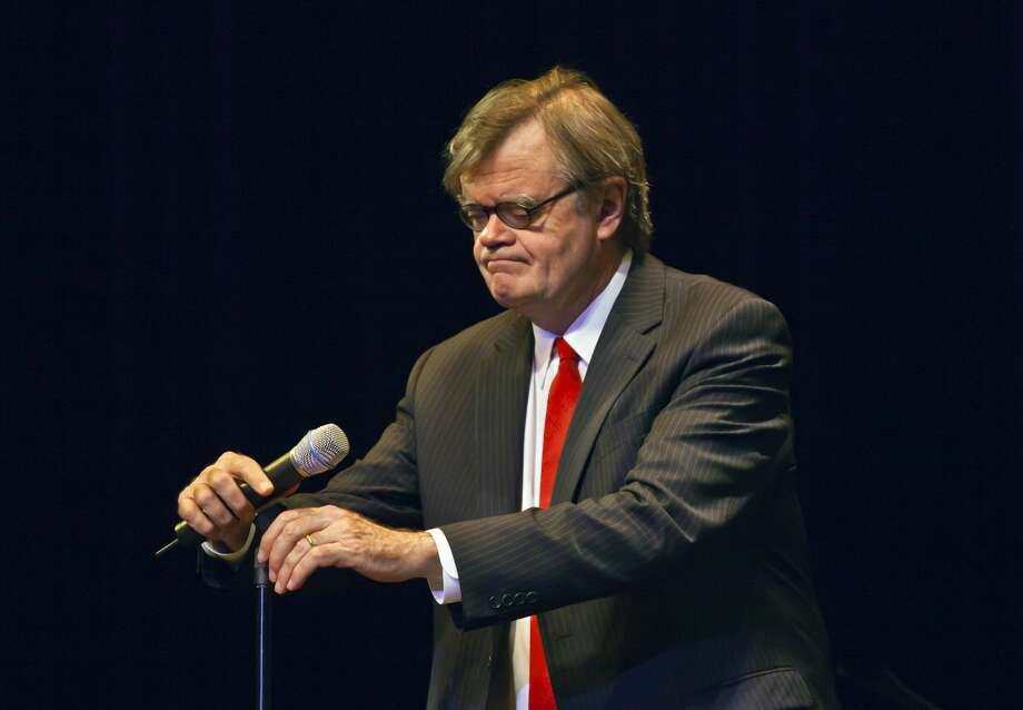 """Garrison Keillor, the former host of """"A Prairie Home Companion,"""" said Wednesday he has been fired by Minnesota Public Radio over allegations of improper behavior. Photo: Craig Lovell/Corbis Via Getty Images"""