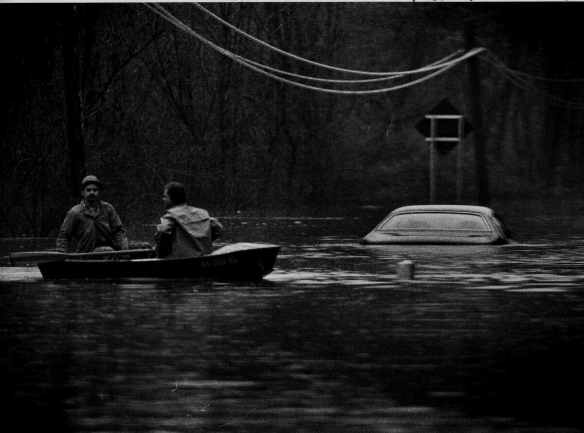 Floods in Niskayuna N.Y. 3/6/79.