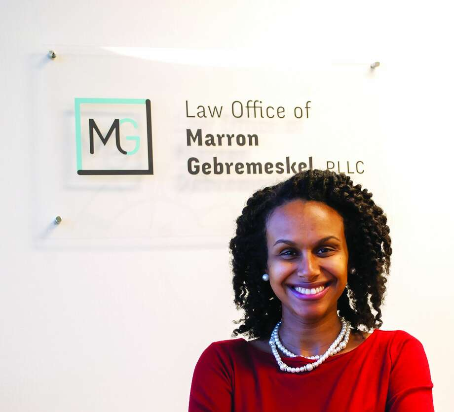 Marron Gebremeskel, 33, Law Office of Marron Gebremeskel, PLLC Attorney/Managing Member Photo: Midland Reporter-Telegram