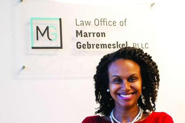 Marron Gebremeskel, 33,Law Office of Marron Gebremeskel, PLLC Attorney/Managing Member