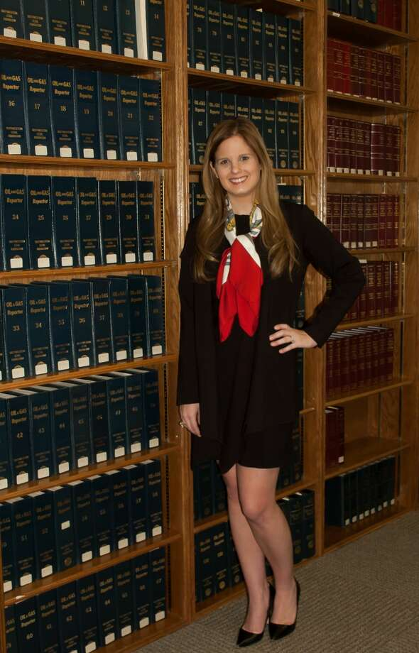 Whitney Savage Ellis, 30, Stubbeman, Mcrae, Sealy, Laughlin & Browder, Inc. attorney practicing estate planning and probate law at the stubbeman firm Photo: Midland Reporter-Telegram