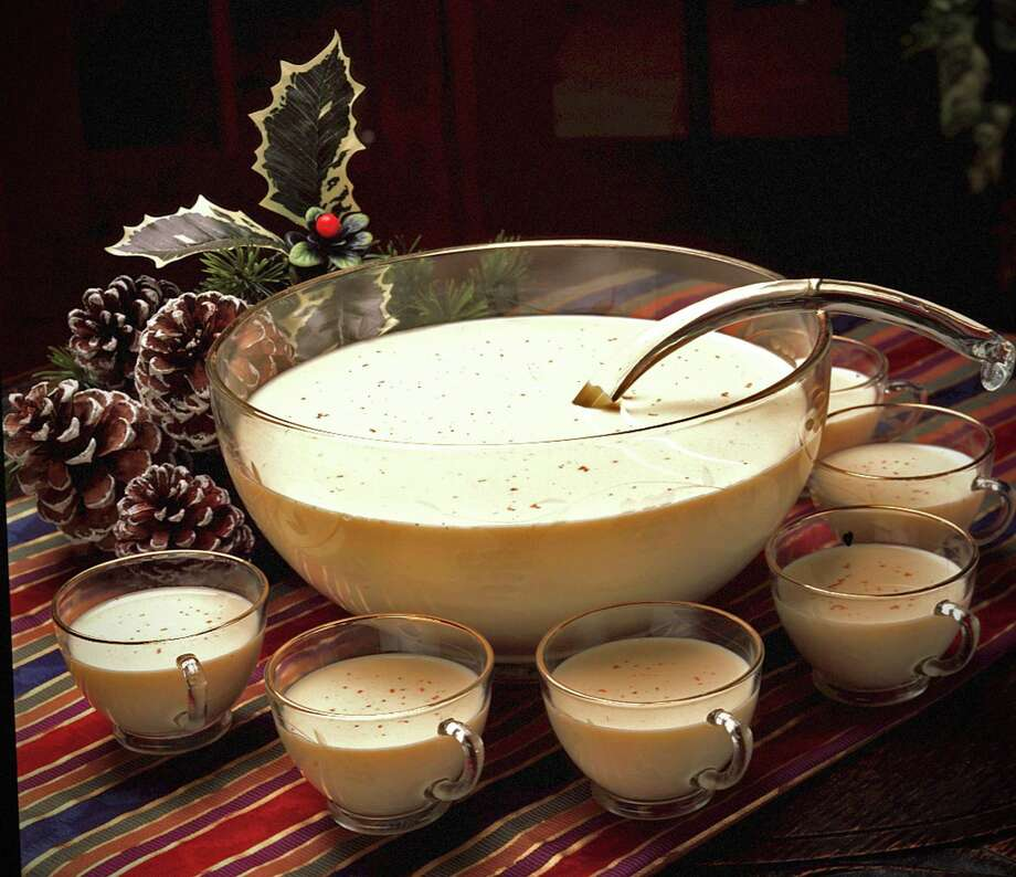 Nothing warms a holiday gathering like a punch bowl filled with homemade eggnog. Photo: Gale Beery, Contributor / Getty Images / This image is subject to copyright.