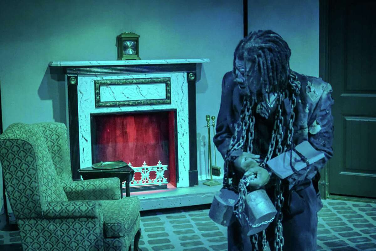 """Times are tough for more than Marley's ghost in Clear Creek Community Theatre's version of """"A Christmas Carol,"""" where the joy of Ebeneezer Scrooge's reformation is tempered by the uncertainties of life in Victorian England."""