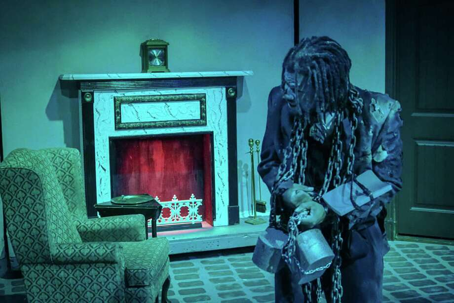 "Times are tough for more than Marley's ghost in Clear Creek Community Theatre's version of ""A Christmas Carol,"" where  the joy of Ebeneezer Scrooge's reformation is tempered by the uncertainties of life in Victorian England."